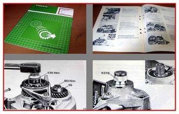 Werkstatthandbuch Volvo 440 460 480 ab 1986 Getriebe Reparatur M50 bis M60
