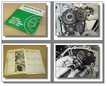 Honda CB400A Hondamatic 1977 Reparaturanleitung Shop Manual Manuel dAtelier