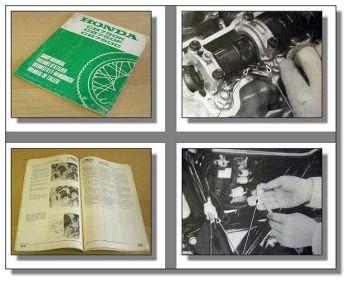 Werkstatthandbuch Honda CB750K RC01 CB750F RC04 CB750C RC06 Ergänzung 1981