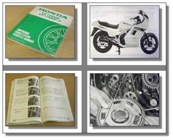 Werkstatthandbuch Honda VF1000F VF1000 F2 Interceptor SC15 1985 Shop Manual