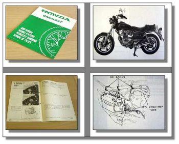 Werkstatthandbuch Honda CM400TNC01 Ergänzung 1979 zu CB400T CB250T