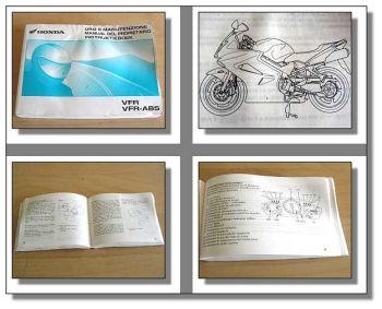 Honda VFR 800 / VFR-ABS Motorrad Betriebsanleitung 2001