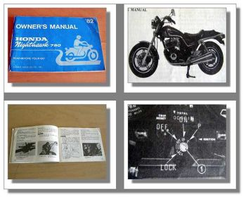 Honda 750SC Nighthawk Owners Manual model 1982