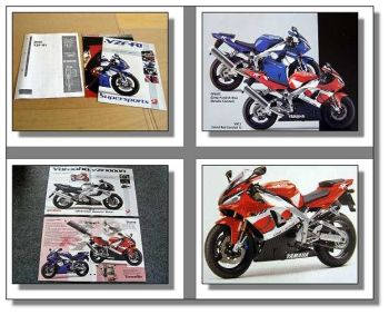 Yamaha YZF-R1 Technical Orientation Guide Baujahr 2000
