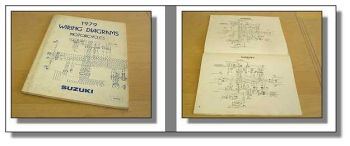 Suzuki Motorrad Schaltpläne Wiring Diagrams models 1979